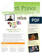 The Garth Prince Spring Newsletter 2013