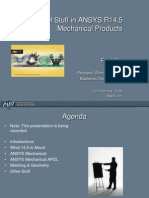 PADT Webinar R145 Important Stuff Mechanical 2012-12-12