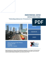 Indonesia 2050, Infrastructure