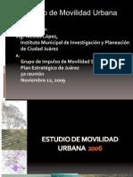 Estudio de movilidad urbana Juárez 2006