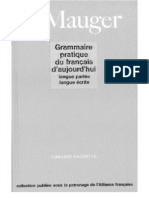 Mauger - Grammaire pratique