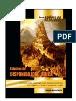 LOS ÍNDICES DE DISPONIBILIDAD LÉXICA