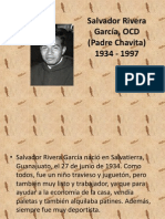 Salvador Rivera García, OCD