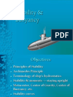 Buoyancy & Stability in Naval Architecture