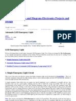 Automatic LED Emergency Light Circuit-1