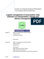 Logistic Management of Wood Pellet Data 2010