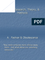 Design Research, Theory and Methods