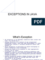 Athipathy  Exceptions in Java