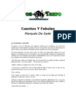 Marques de Sade- Cuentos Y Fabulas