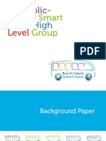 EU public-private Smart Move High Level Group background paper