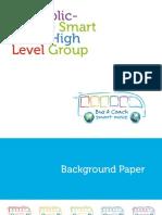 EU public-private Smart Move High Level Group background paper