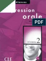 Expression Orale - Niveaux2 - Coperta