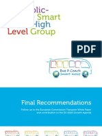 EU Public-Private Smart Move High Level Group – Final recommendations