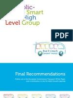 EU Public-Private Smart Move High Level Group – Final recommendations