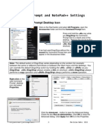 CLI NotePad Plus Plus Settings