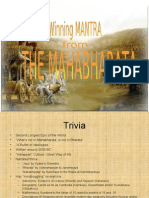 Winning Strategy - Ref. Mahabharat