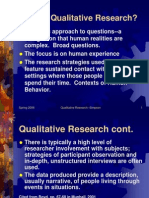 Introduction Qualitative Research