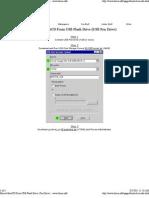Hiren's BootCD From USB Flash Drive (Pen Drive)