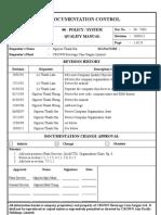 00-V001 Quality Maunual Rev 180311