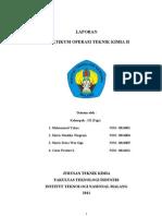 Laporan Otk 2Laporan Otk 2 INSTITUT TEKNOLOGI NASIONAL MALANG Kel. 3