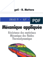 Mecanique Appliquee - RDM,MF, Thermo