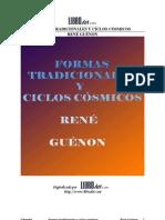 7049907 Guenon Rene Formas Tradicionales y Ciclos Cosmicos