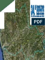 Mapa 2.ª etapa GP Abimota - Região de Aveiro 2013