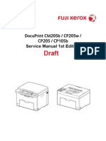 DocuPrint CM205b_CP205w_CP205_CP105b Service Manual Draft