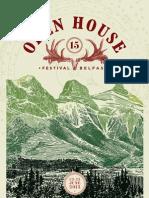 Open House Belfast 2013 Programme