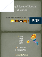 The Legal Bases of Special Education