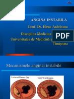 Angina Instabila - Diagnostic Tratament