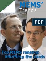 MEMS Trends No.10 2012.04