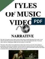 Styles of Music Videos.pptx