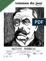 Victor Méric, « Octave Mirbeau »