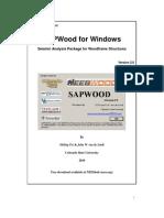 SAPWood User's Manual V20