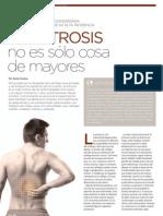 La artrosis no es sólo cosa de mayores | Revista GHQ #15