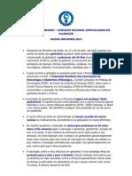 Vacina Influenza 2013