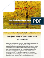 Ring Die Animal Feed Pellet Mill