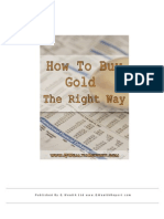 How to Buy Gold the Right Way