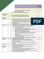 TREND Checklist