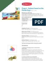 Harbour Scene Based on the Florida Keys