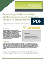 Lufthansa BI Casestudy