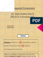 Managerial Economics - Dr.ehab Nadem Part II