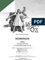 Wizard of Oz Workpack