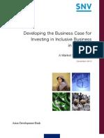 20120430 Pakistan Inclusive Business Financing Facility Feasibility Study FINAL