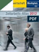 Zeitarbeitsatlas 2012
