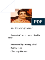 Vishal Gondal Entrepreneur