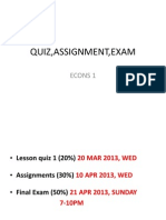 DipCom BA5A ECONS1 Quiz Assignment Exam