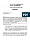 Housing for older people - an ILC Global Alliance Discussion Paper