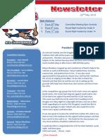2013 05 22 Centrals Newsletter